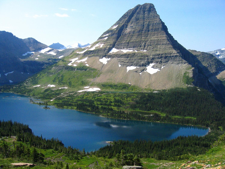 Bearhat Mountain With Hidden Lake