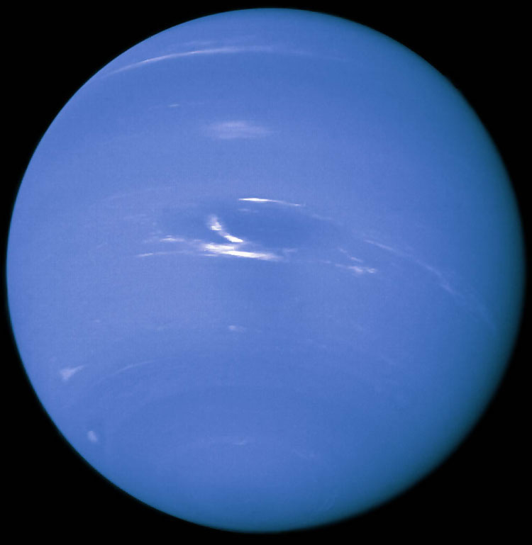 Neptune by Voyager 2 (1989)