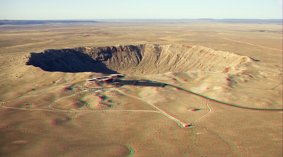 Barringer Crater (3D)