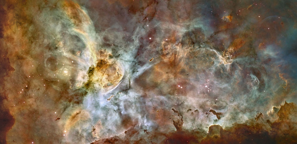 The Great Carina Nebula in False Colours