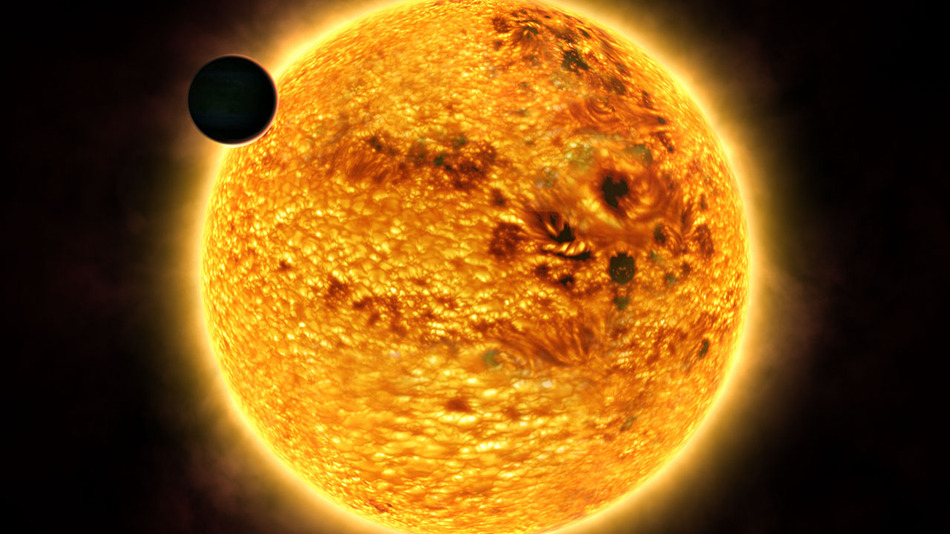 A Hot Jupiter Transit