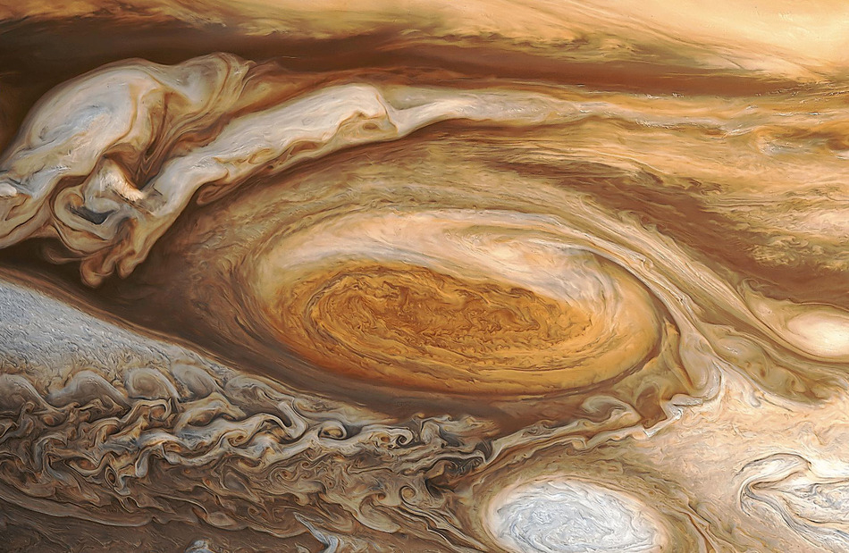 The Great Red Spot (close up)