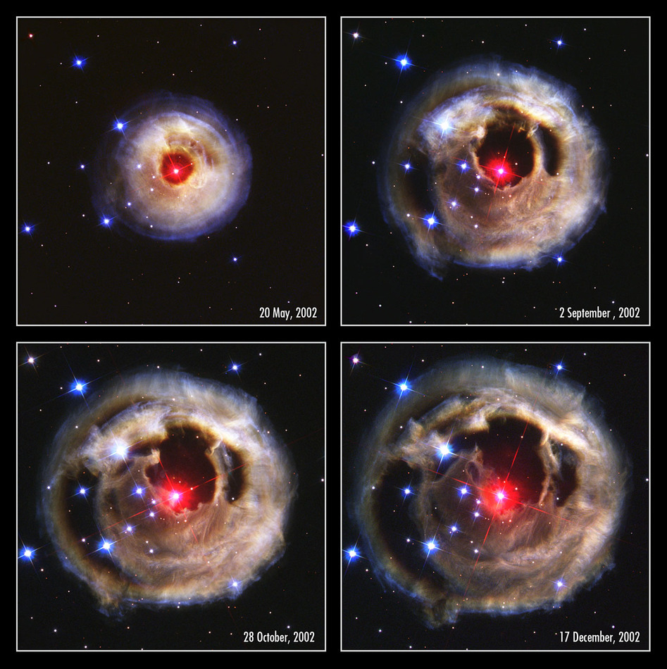 V838 Monocerotis - Light Echo of an Erupting Star