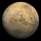 Mars with Valles Marineris