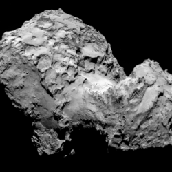 Thumb comet 67p churyumov gerasimenkoon 3 august 2014