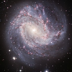 Southern Pinwheel Galaxy (M83) visible light