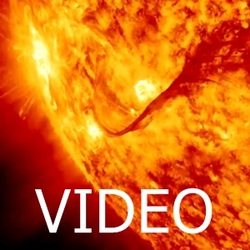 Solar flare on the 31st of August 2012