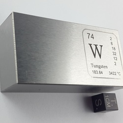 Tungsten Bar 915 g